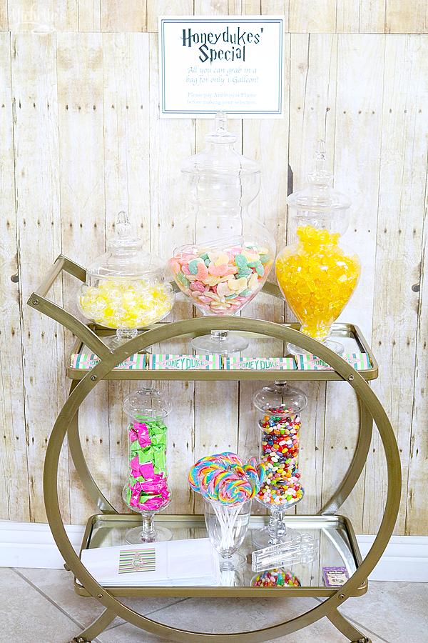 Honeydukes Candy Cart