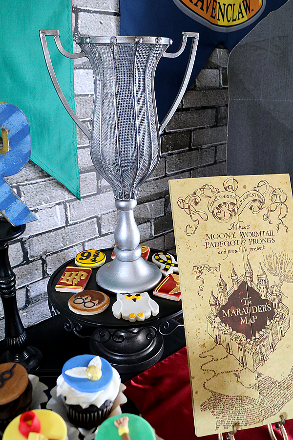 Tri Wizard Cup and Map