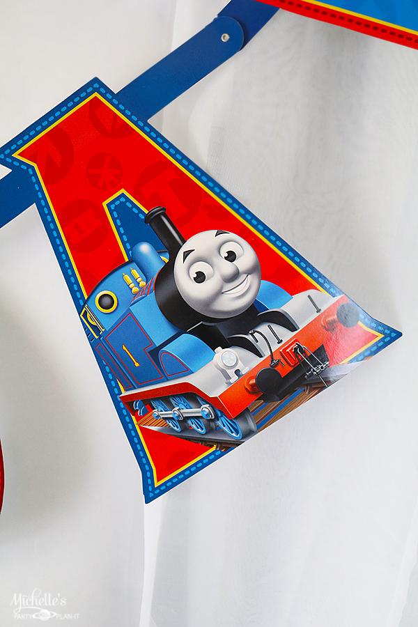 Thomas The Train Birthday Party Decor