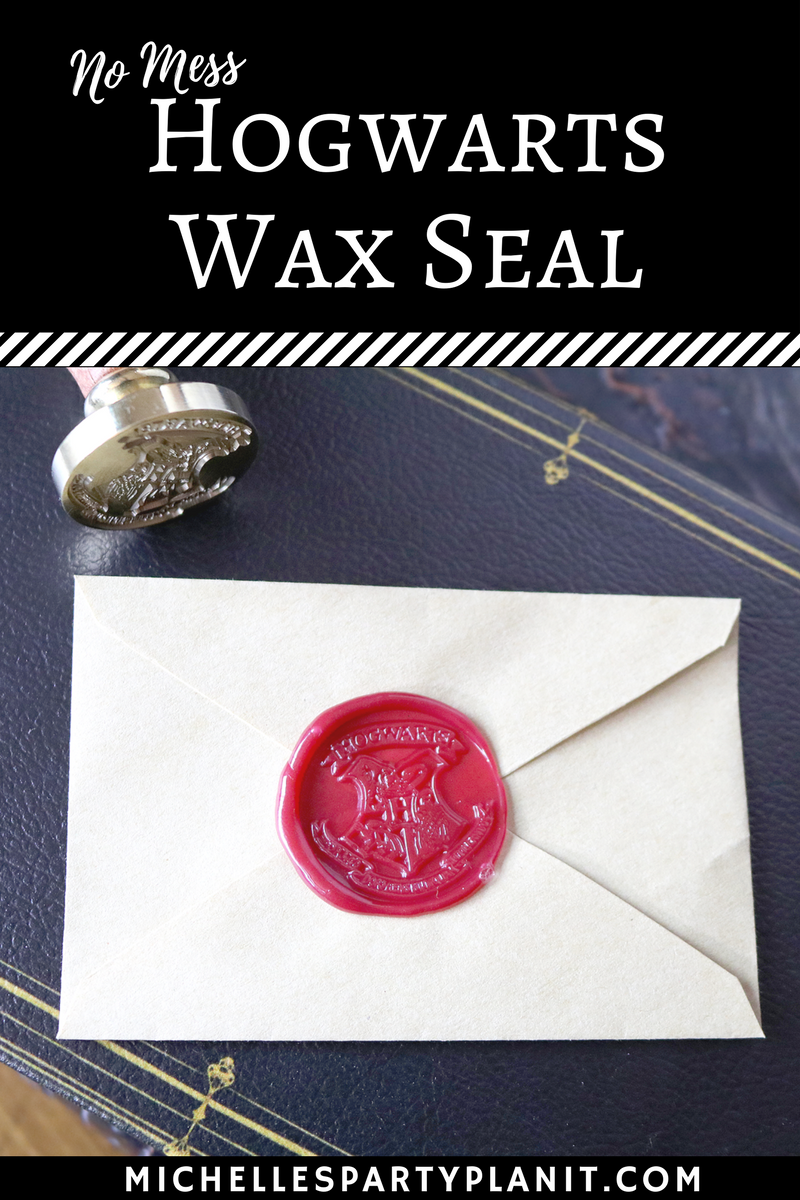 No Mess Hogwarts Wax Seal – Whip It Up Wednesday