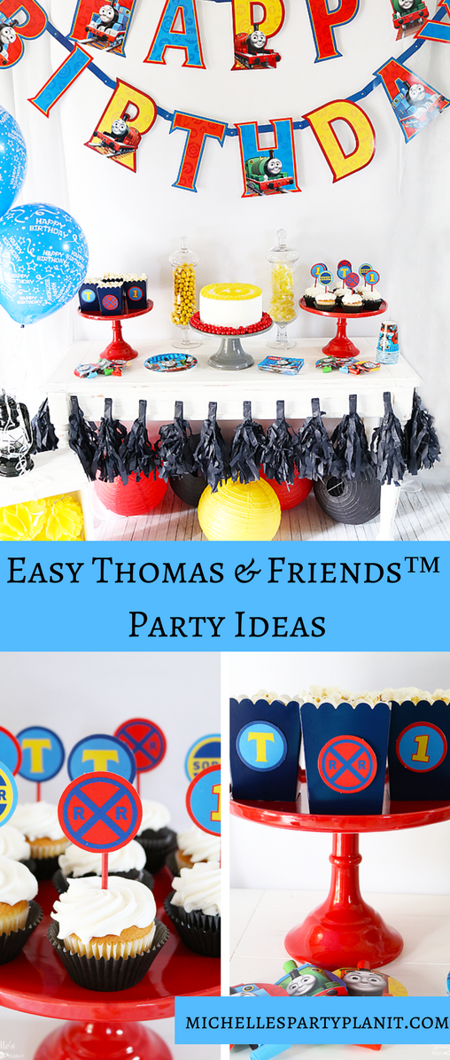 Easy Thomas & Friends™ Party Ideas