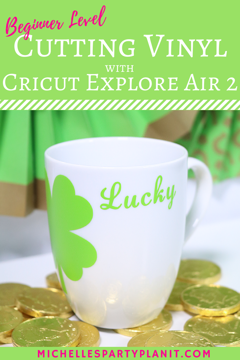 Cutting Vinyl With Cricut Explore Air 2 Beginner Craft