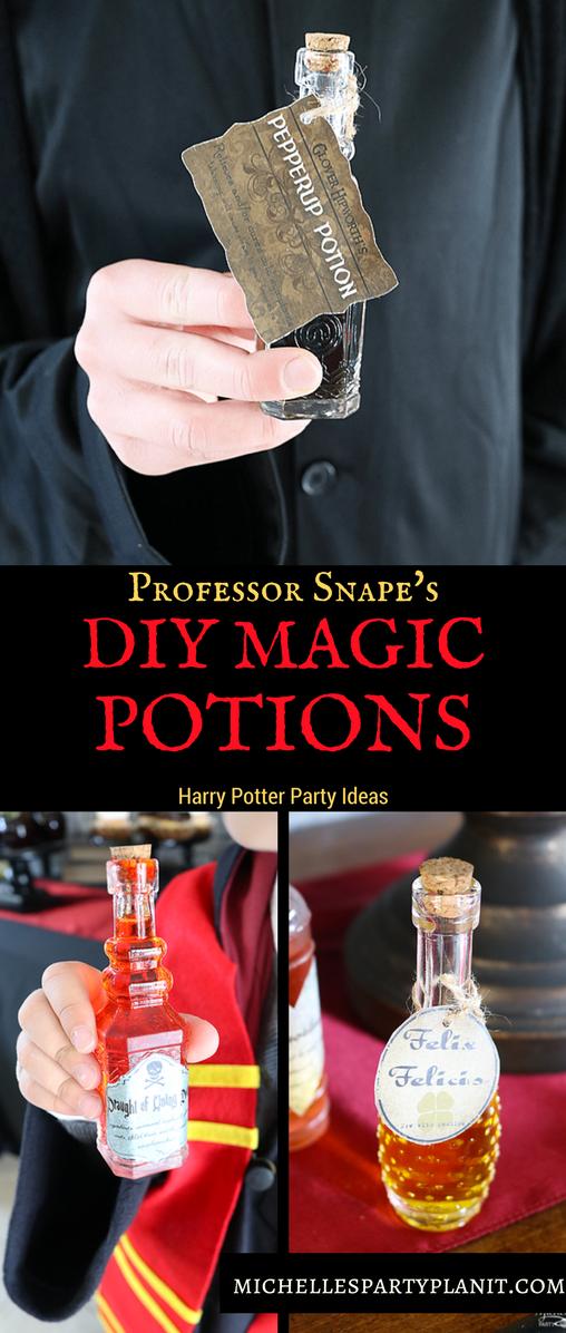Harry Potter Potion Bottles