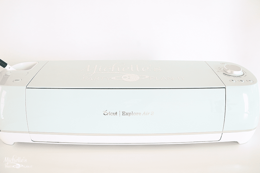 How to personalize your Cricut Explore Air 2 - personalized