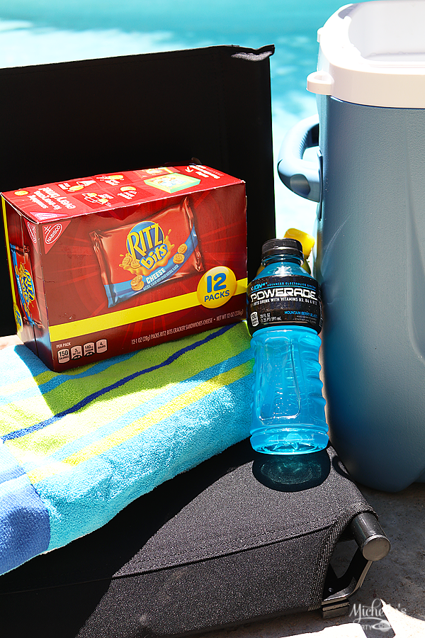 How To Pack A Sideline Cooler