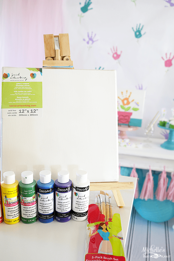 Mommy and Me Painting Party Supplies