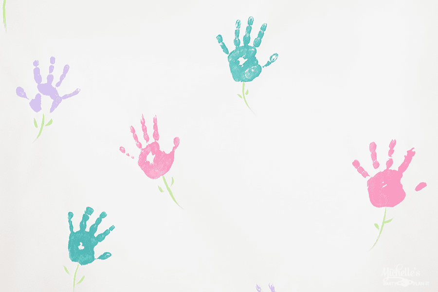 Mommy and Me Painting Party Backdrop