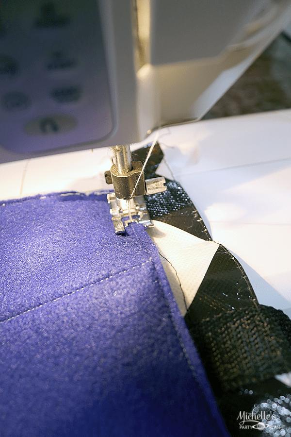 F8 Travel Car Caddy Tutorial - sewing