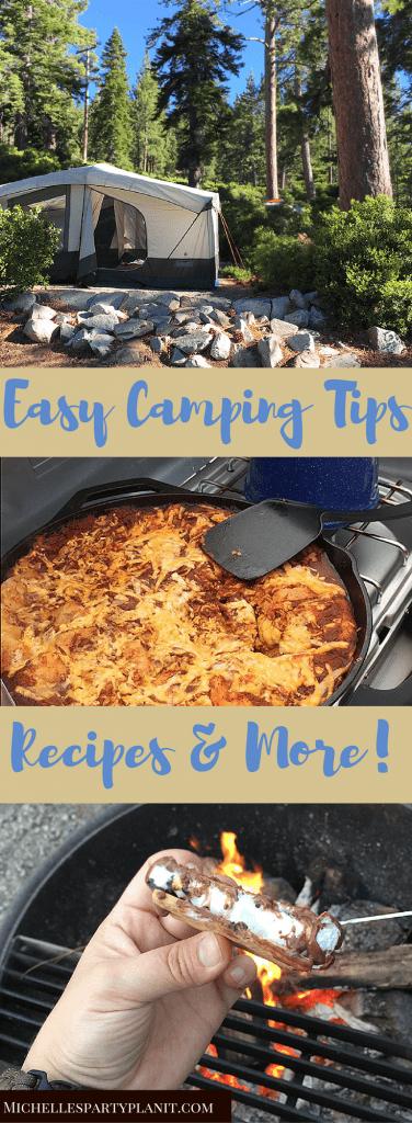 Camping Tips and Recipes