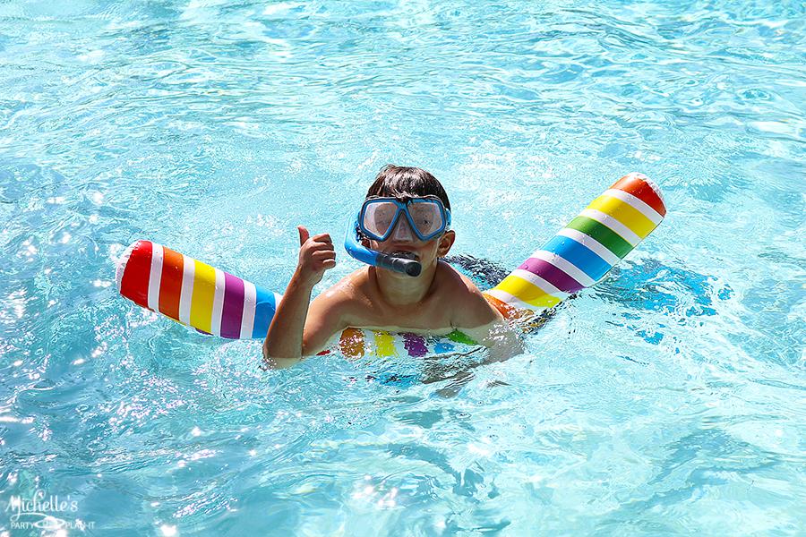 Emoji Pool Party Ideas - Pool Toys