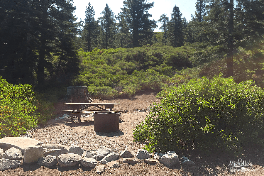 Emerald Bay Campsite 52