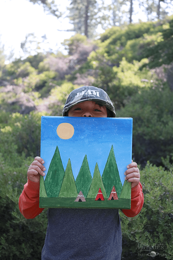 Camping Out with Social Artworking - Camp Activity Ideas