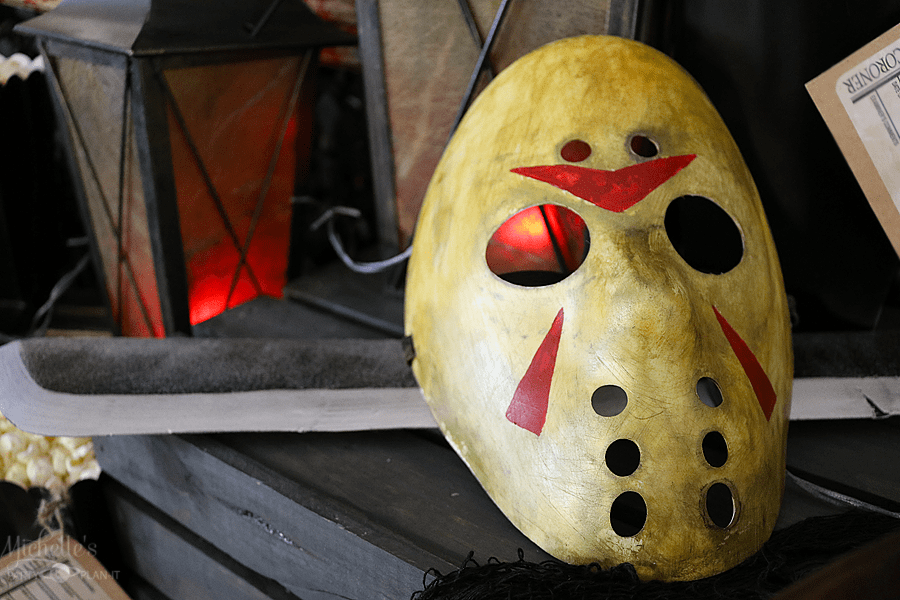 DIY Jason Voorhees Hockey Mask