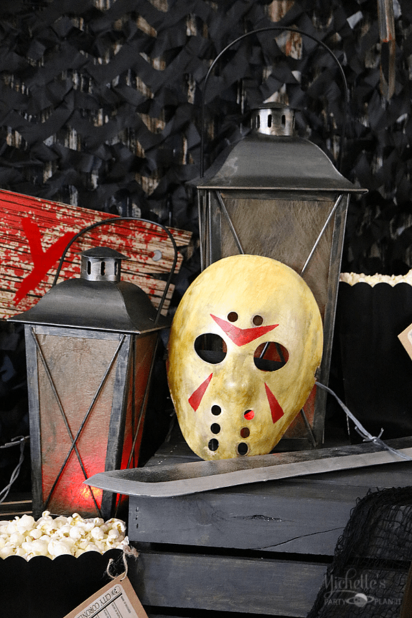Jason mask prop