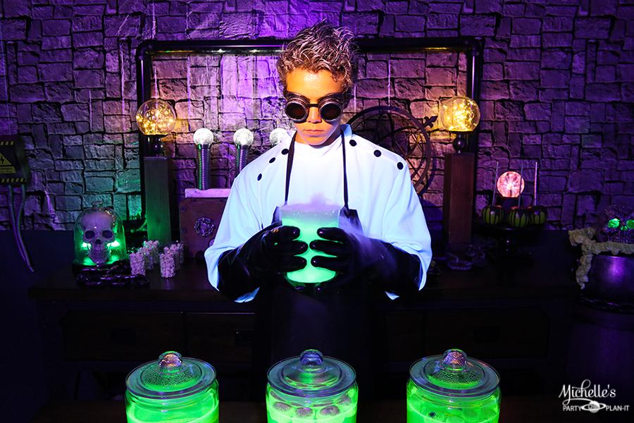 Mad Scientist Halloween Party Decor
