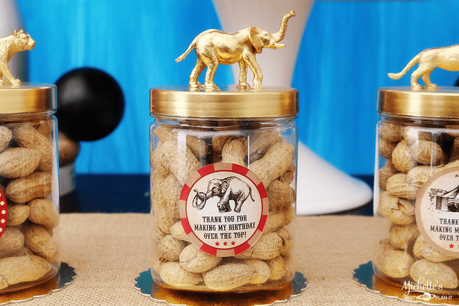 Vintage Circus Party Favors