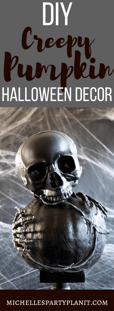 Creepy DIY Pumpkin