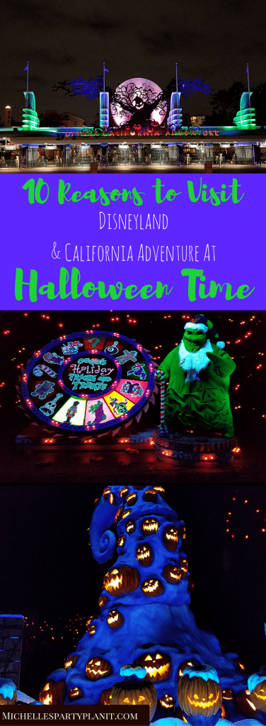 Halloween Time at Disneyland and California Adventure