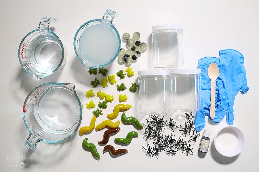 Pons Slime Recipe Supplies