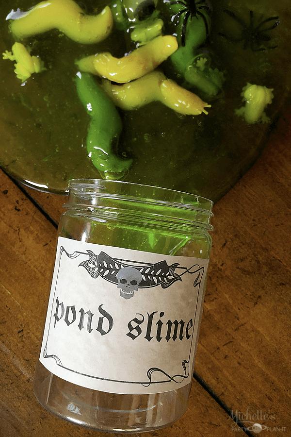 Pond Slime Labels