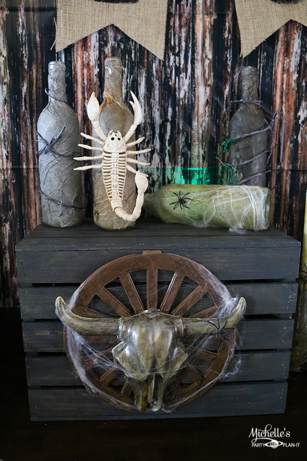 Haunted Ghost Town Party Decorations