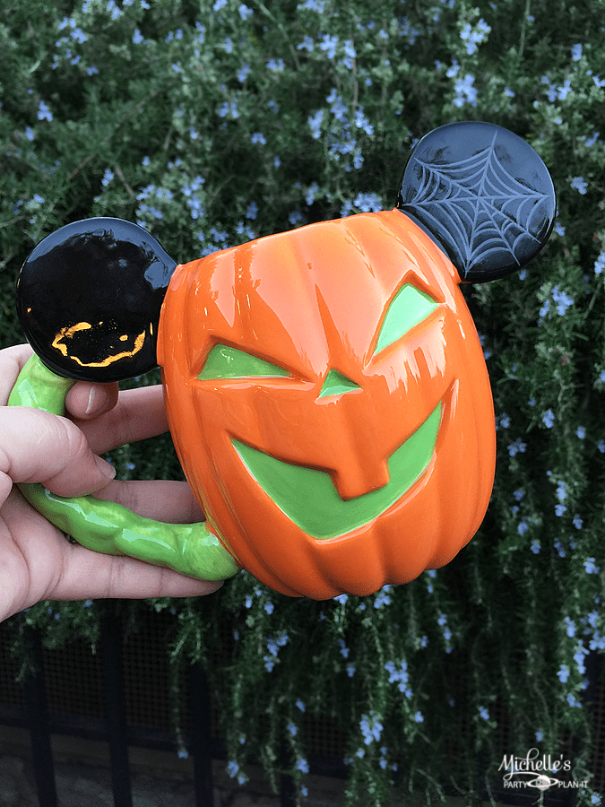 Mickey Jack-o-Lantern Mug