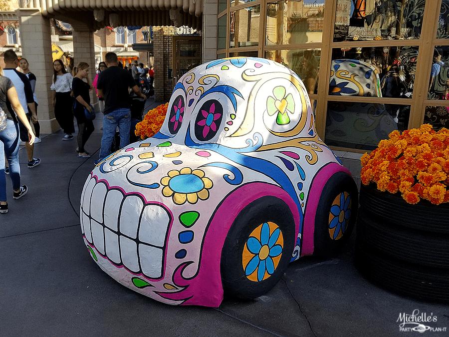 Ramones House of Body Art Sugar Skull Car