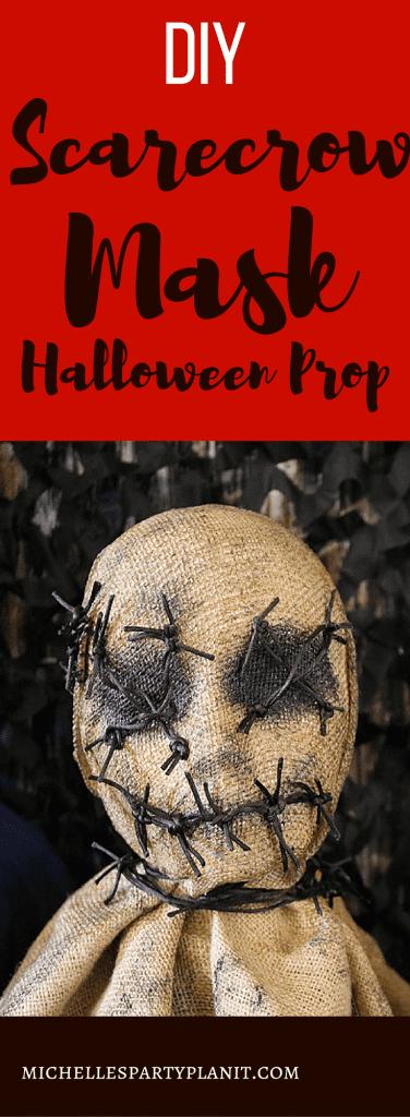 DIY Scarecrow Mask