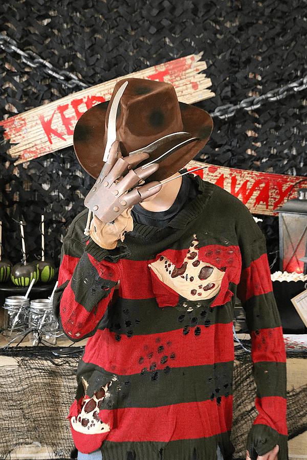 Scary Movie Halloween Party - Nightmare on Elm Street