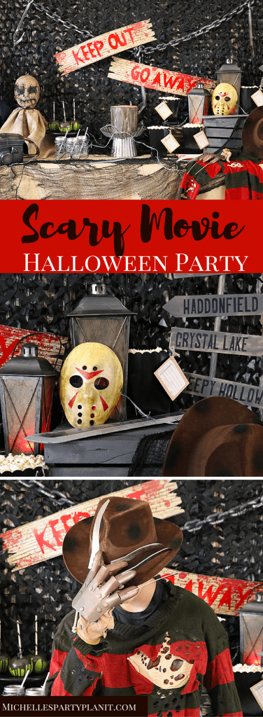 Scary Movie Halloween Party
