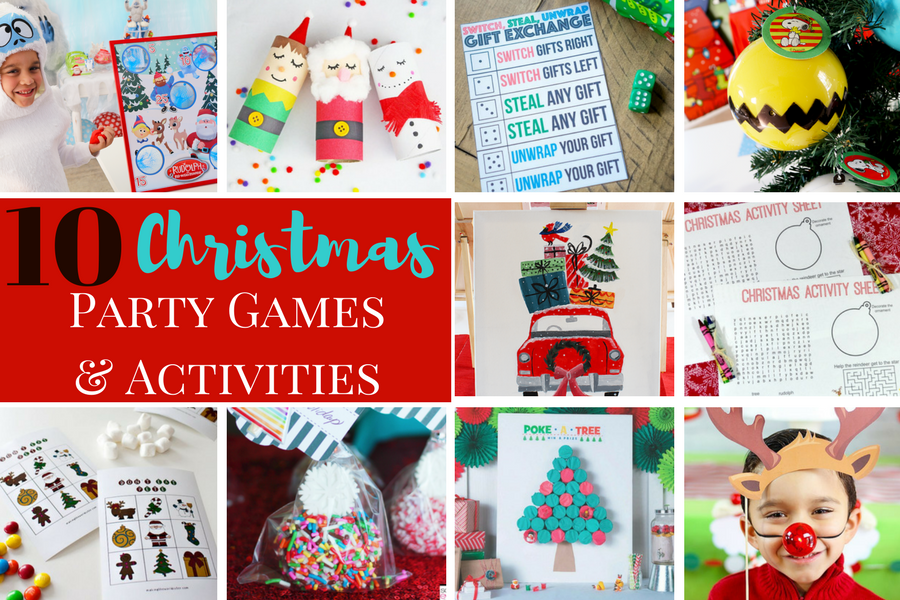 Classroom Birthday Party Games : Christmas party games and activities michelle s