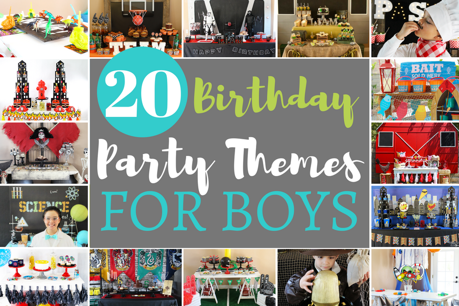 20 Birthday Party Themes For Boys Michelle S Party Plan It