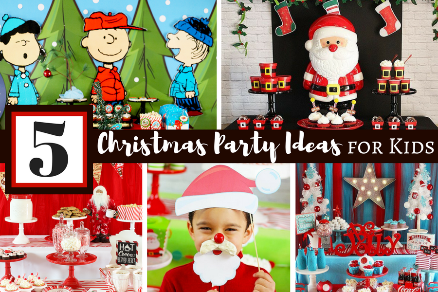 5 Fun Christmas Party Ideas For Kids Michelle S Party Plan It