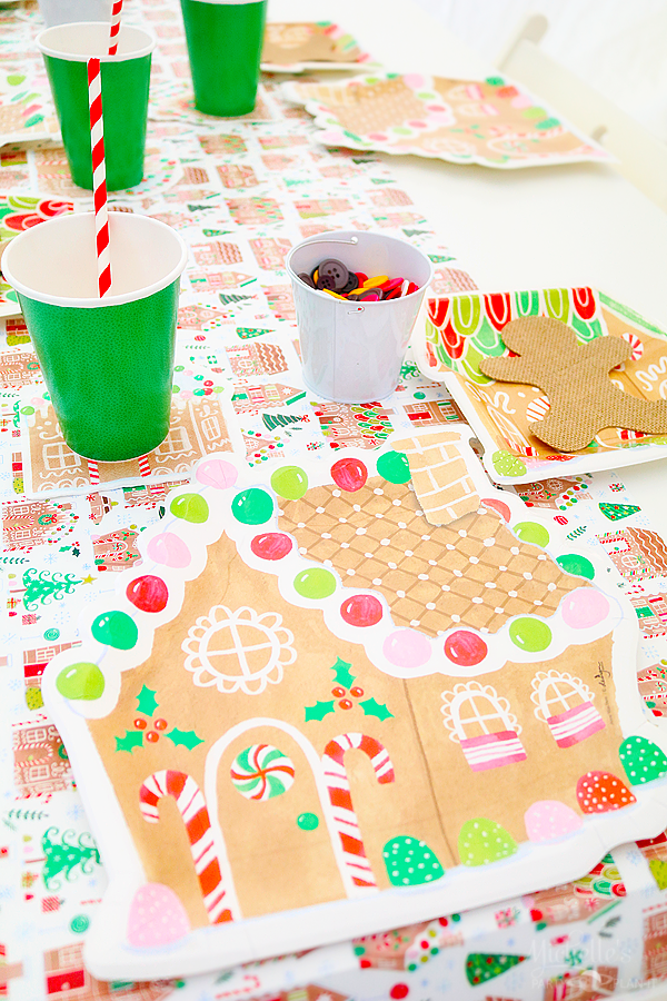 Gingerbread Table Setting