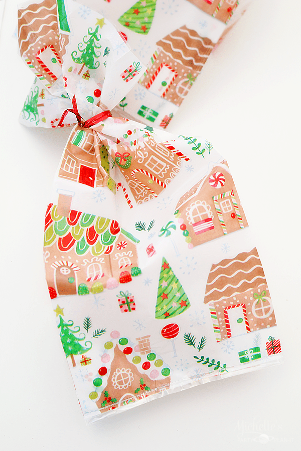 Gingerbread Party Bags