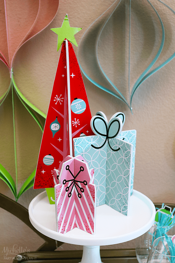 Mod Holiday Happy Hour Decorations