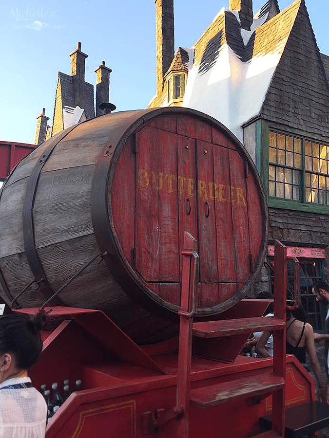 Butterbear in Hogsmeade at Universal Studios Hollywood