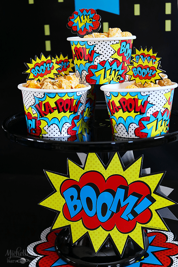 Budget Friendly Superhero Party Snacks