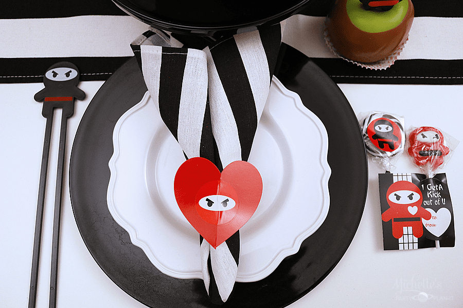 You Stole My Heart Valentine Place Setting