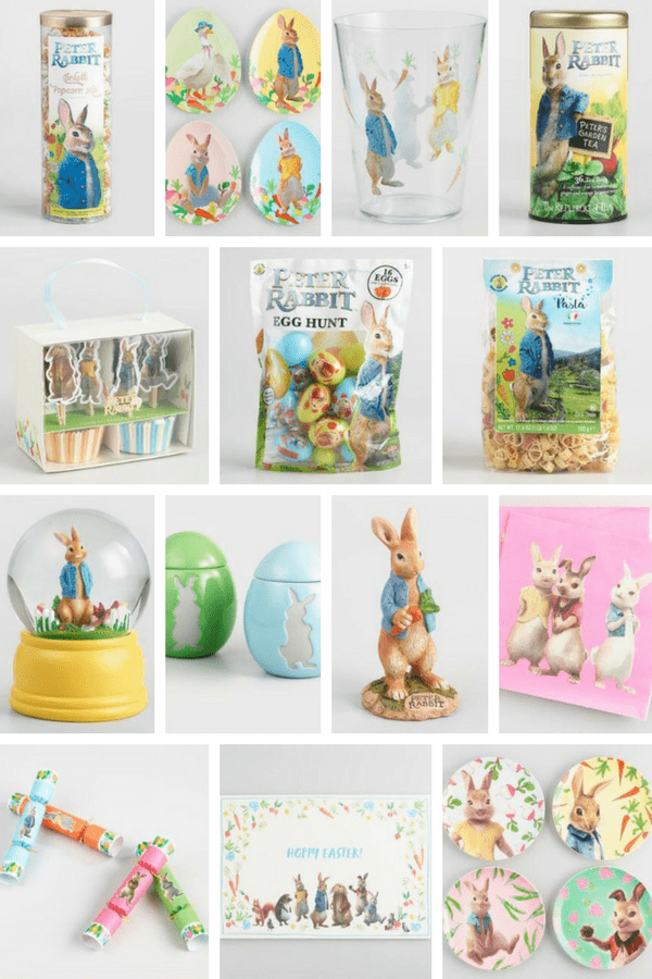 Shop This Post - Peter Rabbit Collection at Cost Plus World Market