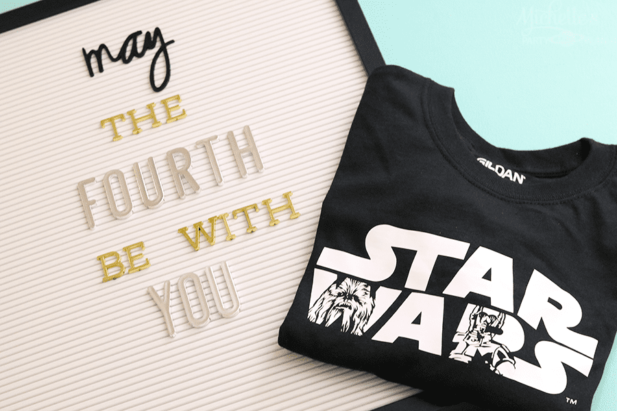 May The Fourth Be With You Diy Star Wars Shirts