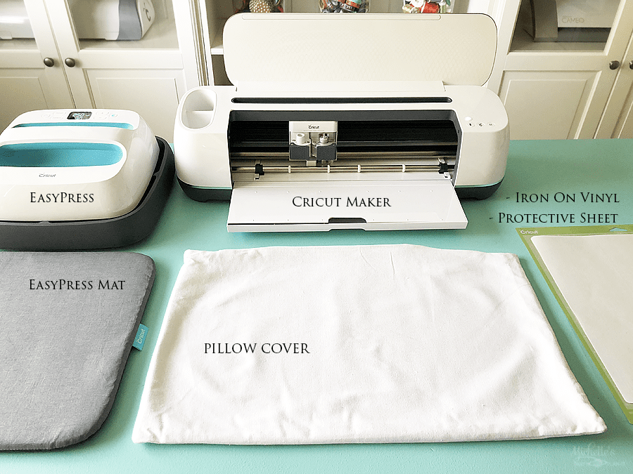 Supplies needed personalized pillow