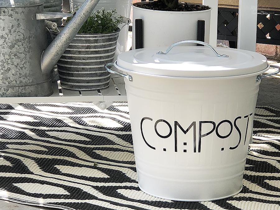 DIY Compost Pail Project