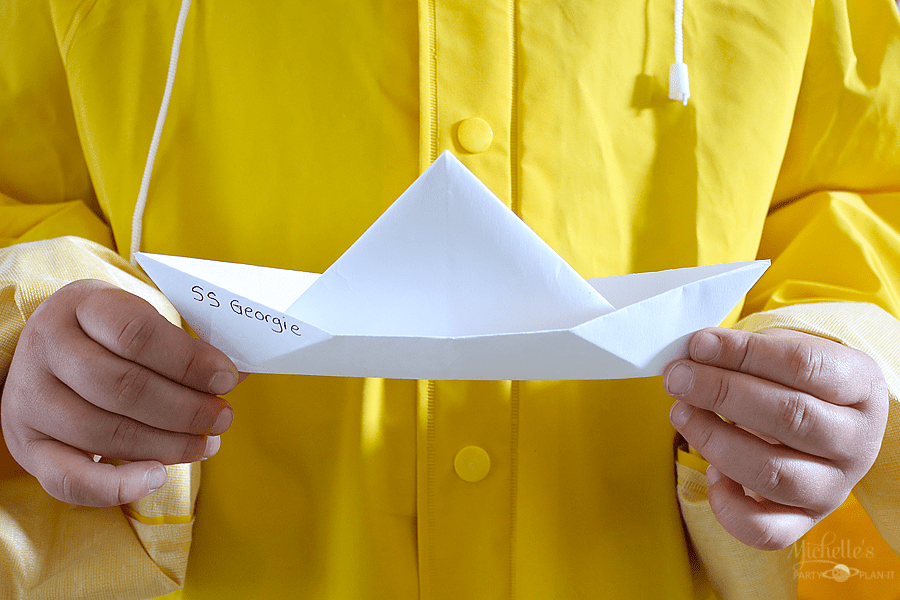 IT Party Ideas - paper boat