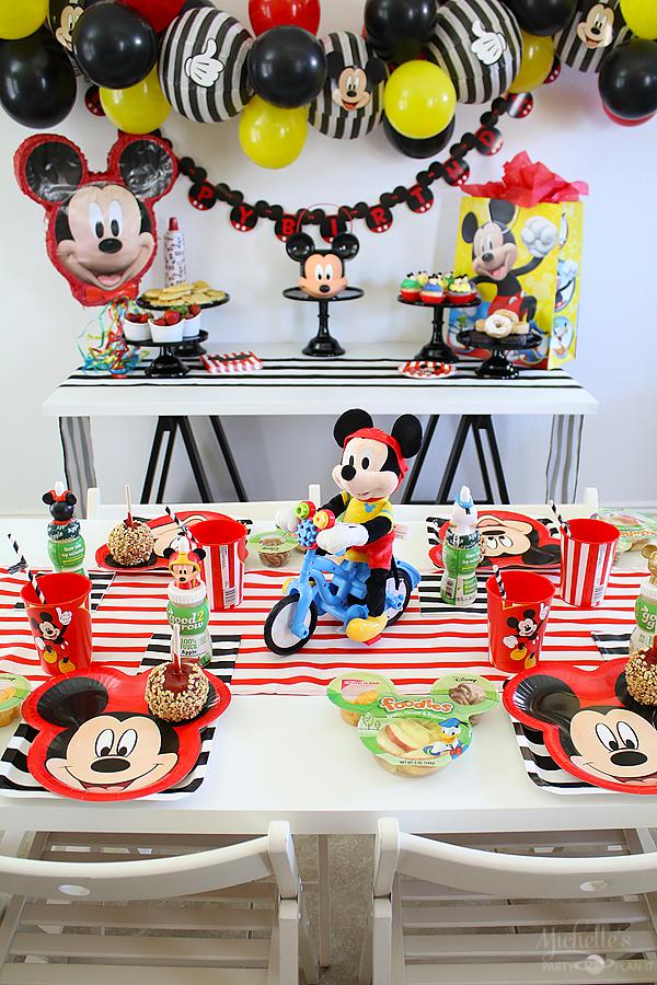 Mickey Birthday Party Idea