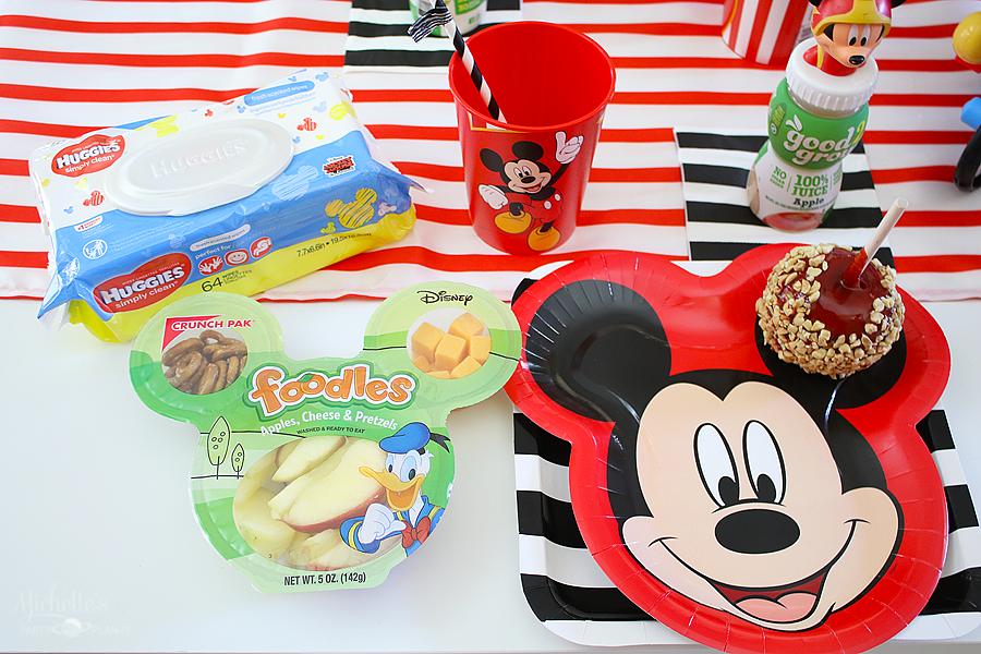 Mickey Birthday Party Snacks