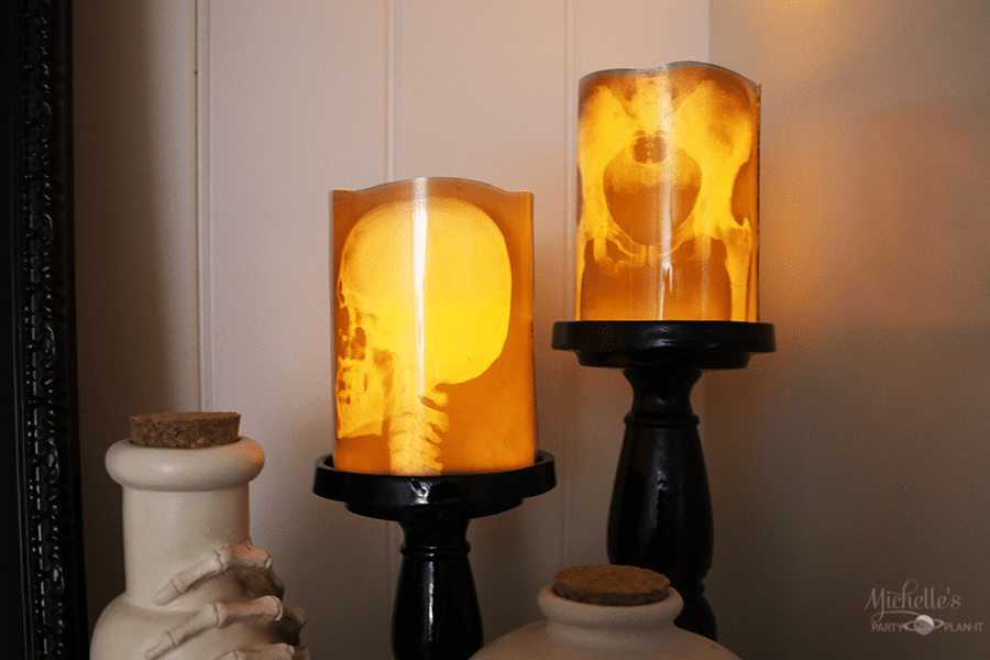 xray candles