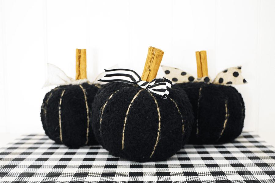 Diy fabric pumpkins 2