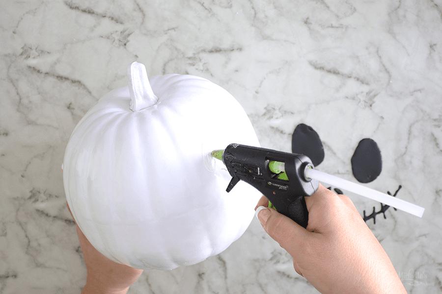DIY Jack Skellington Pumpkin Idea