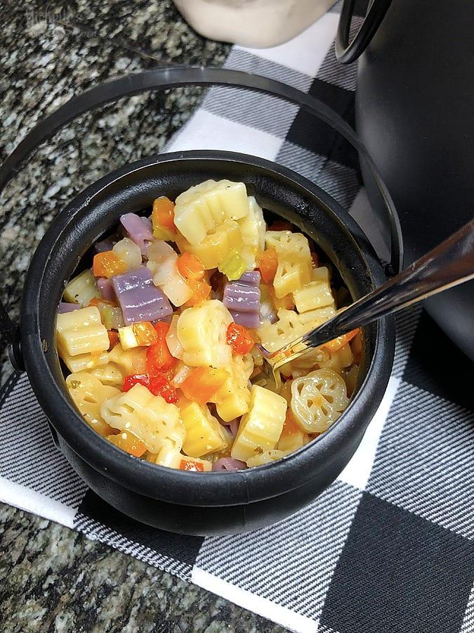 Halloween Pasta Salad Recipe